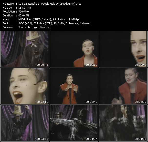 Lisa Stansfield - People Hold On (Bootleg Mix)