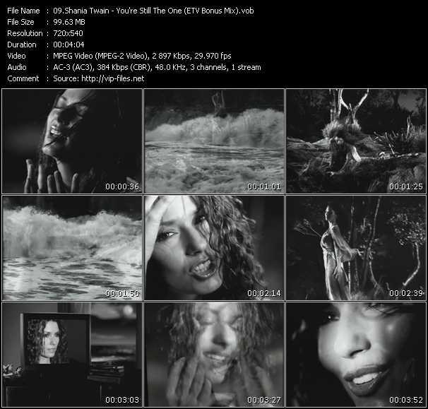 Shania Twain - You're Still The One (ETV Bonus Mix)