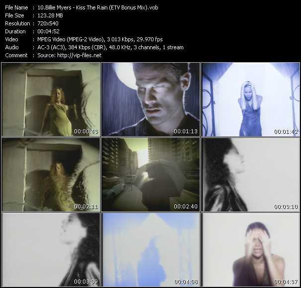 Billie Myers - Kiss The Rain (ETV Bonus Mix)