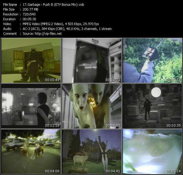 Garbage - Push It (ETV Bonus Mix)