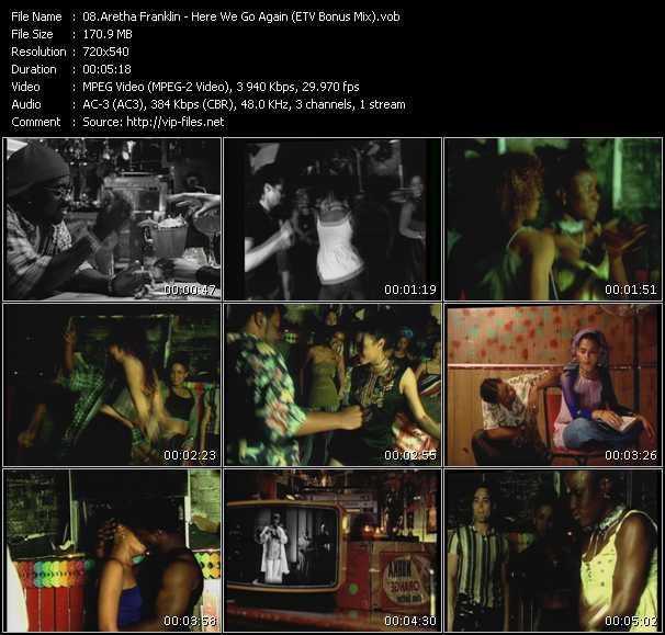 Aretha Franklin - Here We Go Again (ETV Bonus Mix)
