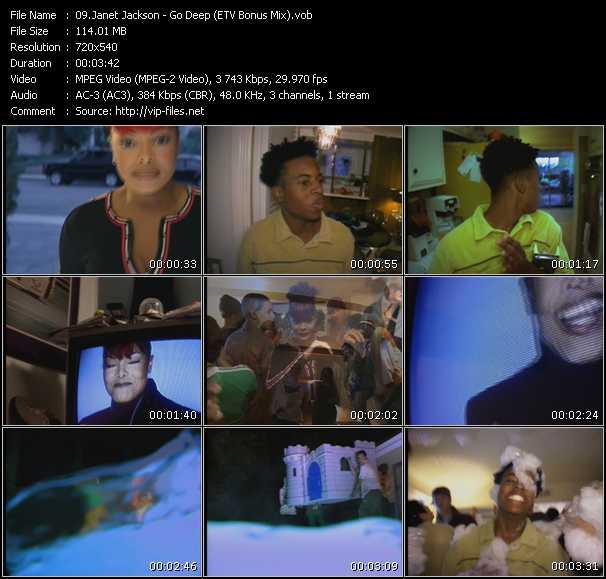Janet Jackson - Go Deep (ETV Bonus Mix)