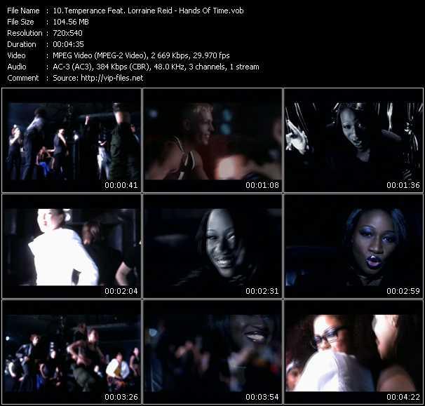 Temperance Feat. Lorraine Reid - Hands Of Time