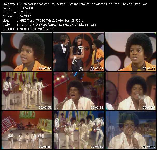 Michael Jackson And The Jacksons (Jackson 5) - Looking Through The Window (The Sonny And Cher Show)