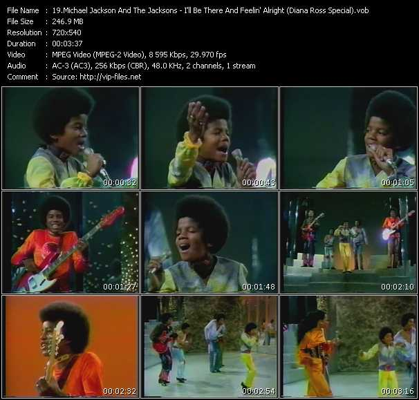 Michael Jackson And The Jacksons (Jackson 5) - I'll Be There And Feelin' Alright (Diana Ross Special)