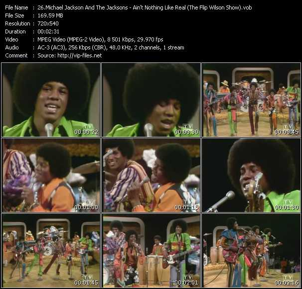 Michael Jackson And The Jacksons (Jackson 5) - Ain't Nothing Like Real (The Flip Wilson Show)