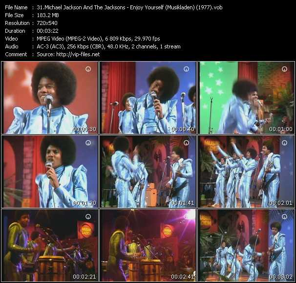 Michael Jackson And The Jacksons (Jackson 5) - Enjoy Yourself (From Musikladen) (1977)