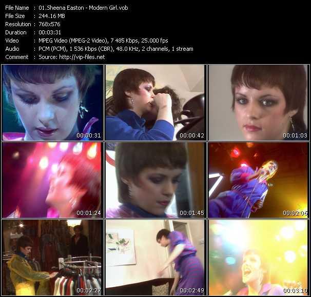 Sheena Easton - Modern Girl