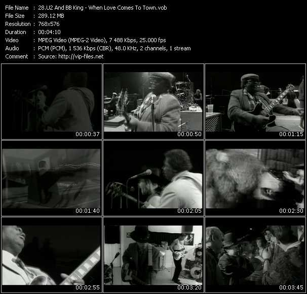 U2 And B.B. King - When Love Comes To Town