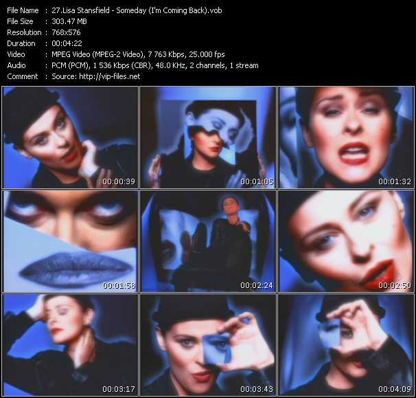 Lisa Stansfield - Someday (I'm Coming Back)