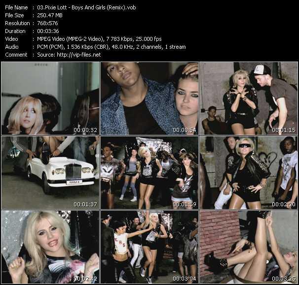 Pixie Lott - Boys And Girls (Remix)