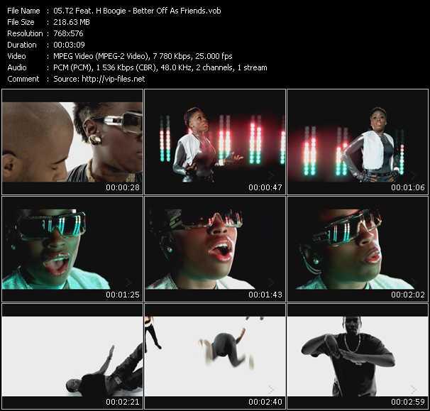 T2 Feat. H Boogie - Better Off As Friends