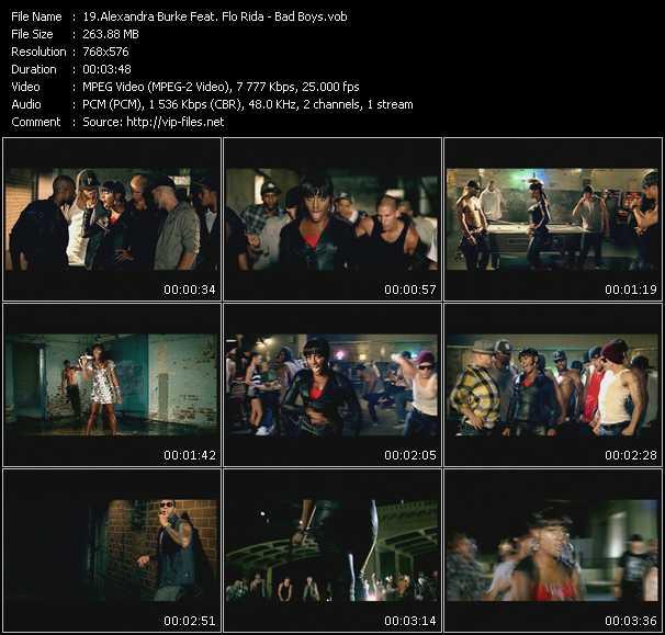 Alexandra Burke Feat. Flo Rida - Bad Boys