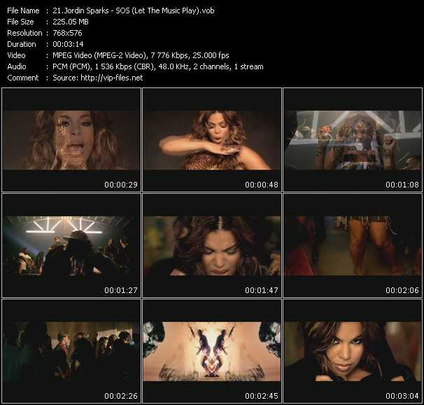 Jordin Sparks - SOS (Let The Music Play)