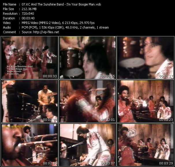 Kc And The Sunshine Band - I'm Your Boogie Man