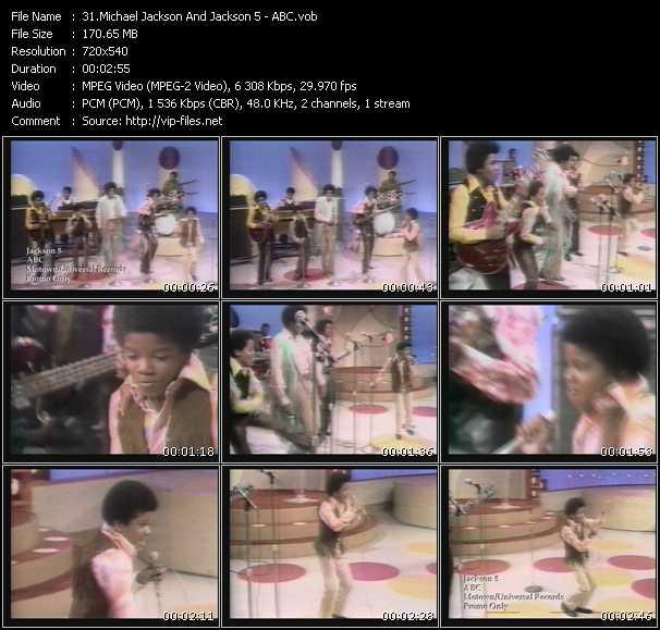 Michael Jackson And The Jacksons (Jackson 5) - Abc