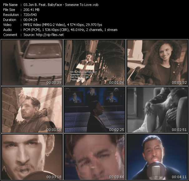 Jon B. Feat. Babyface - Someone To Love
