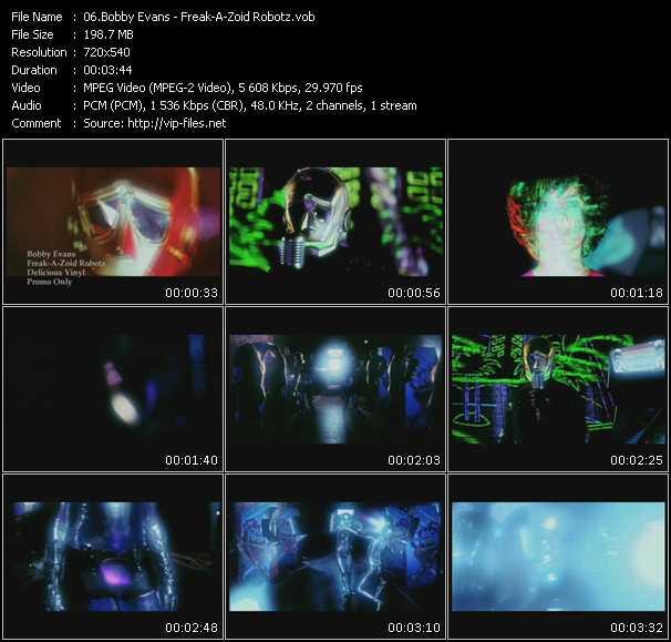 Bobby Evans - Freak-A-Zoid Robotz