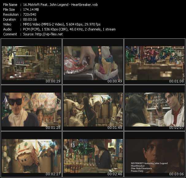 Mstrkrft Feat. John Legend - Heartbreaker