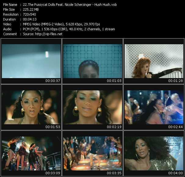 Pussycat Dolls Feat. Nicole Scherzinger - Hush Hush
