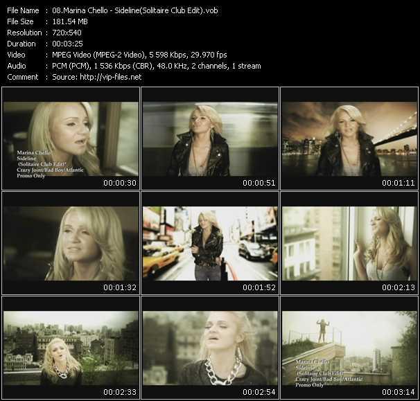 Marina Chello - Sideline (Solitaire Club Edit)