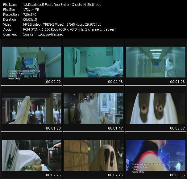 Deadmau5 Feat. Rob Swire - Ghosts 'N' Stuff