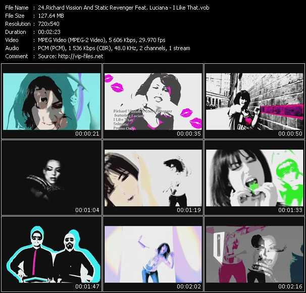 Richard Vission And Static Revenger Feat. Luciana - I Like That