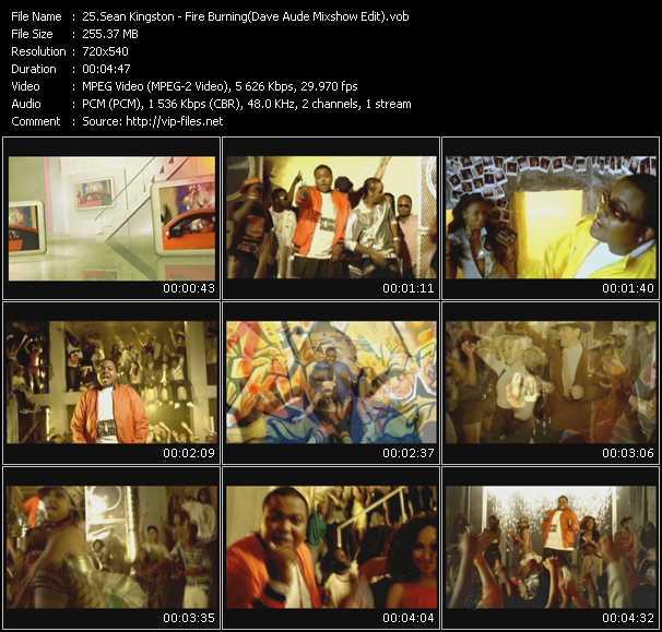 Sean Kingston - Fire Burning (Dave Aude Mixshow Edit)