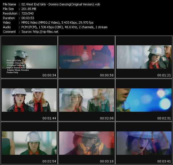 West End Girls - Domino Dancing (Original Version)