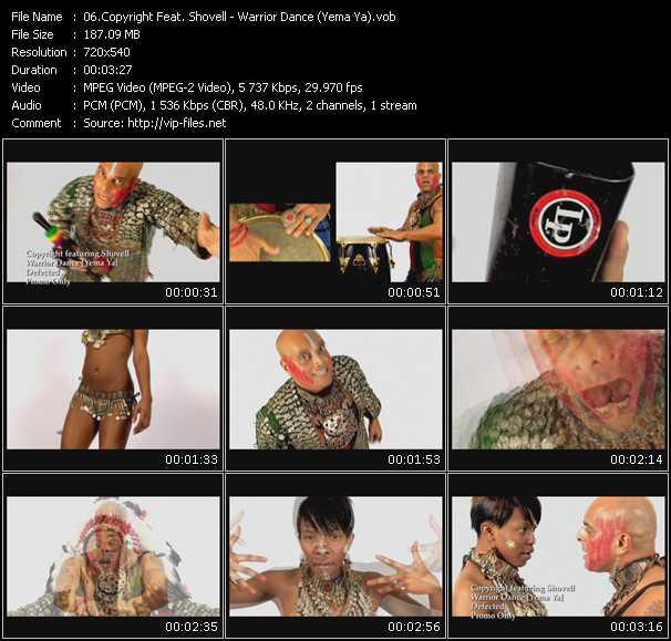 Copyright Feat. Shovell - Warrior Dance (Yema Ya)