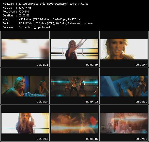 Lauren Hildebrandt - Boyshorts (Aaron Paetsch Mix)