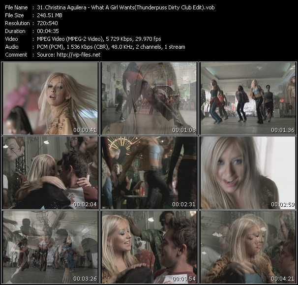 Christina Aguilera - What A Girl Wants (Thunderpuss Dirty Club Edit)