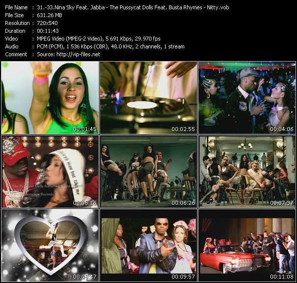 Nina Sky Feat. Jabba - Pussycat Dolls Feat. Busta Rhymes - Nitty - Move Ya Body - Don't Cha - Nasty Girl