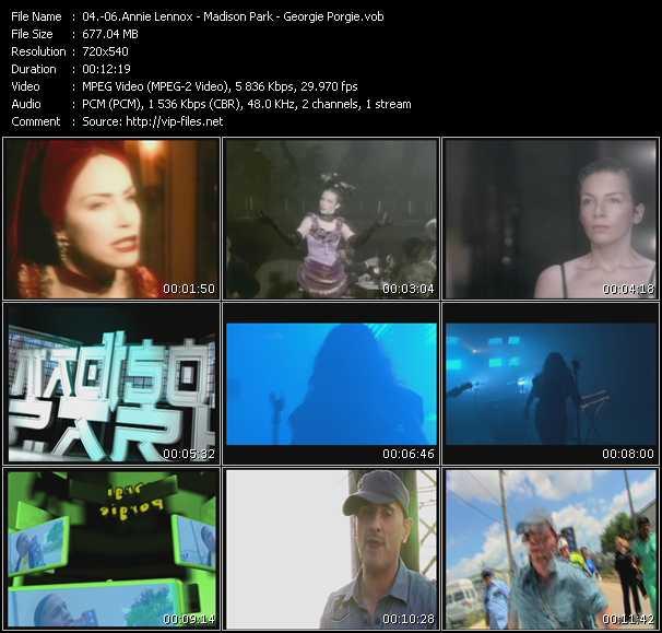 Annie Lennox - Madison Park - Georgie Porgie - Backwards-Forwards (The Mashup) - Another Yesterday (BeechKraft Radio Edit) - Brand New Day