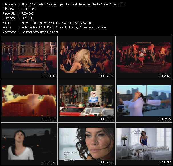 Cascada - Avalon Superstar Feat. Rita Campbell - Annet Artani - Evacuate The Dancefloor - So Alive (Playmaker Club Edit) - Alive