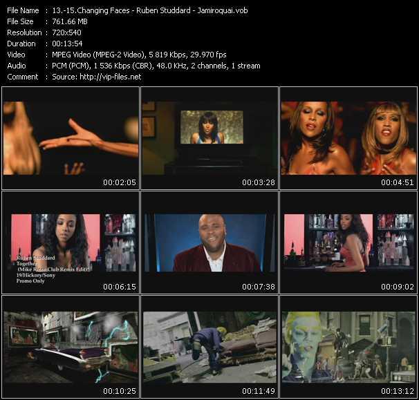 Changing Faces - Ruben Studdard - Jamiroquai - That Other Woman (Num Club Edit) - Together (Mike Rizzo Club Remix Edit) - Feels Just Like It Should (Ralphi N' Jody's Vivacious Vox Edit)