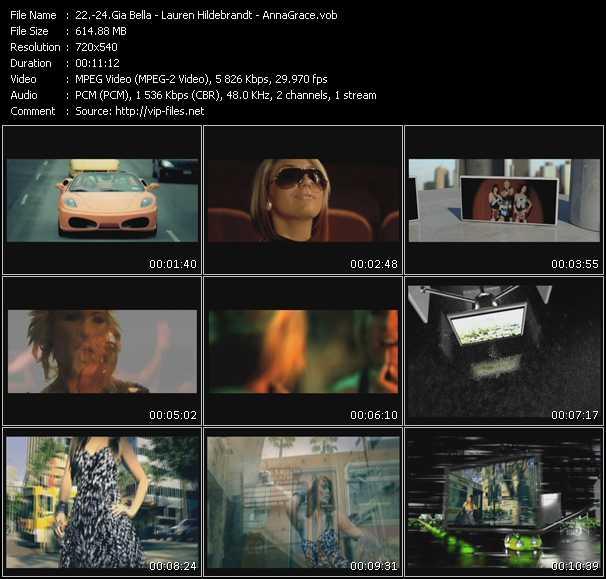 Gia Bella - Lauren Hildebrandt - AnnaGrace - Back It Up (Dave Aude Club Edit) - Boyshorts (Future Freakz Edit) - Let The Feelings Go (Hardwell Remix) (ISV Video Mix by VJ Bigodao)