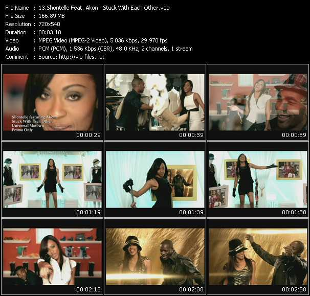 Shontelle Feat. Akon - Stuck With Each Other