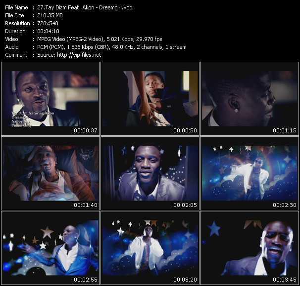 Tay Dizm Feat. Akon - Dreamgirl
