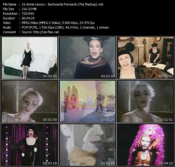Annie Lennox - Backwards-Forwards (The Mashup)