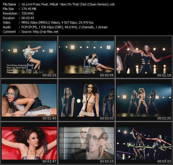 Livvi Franc Feat. Pitbull - Now I'm That Chick (Clean Version)