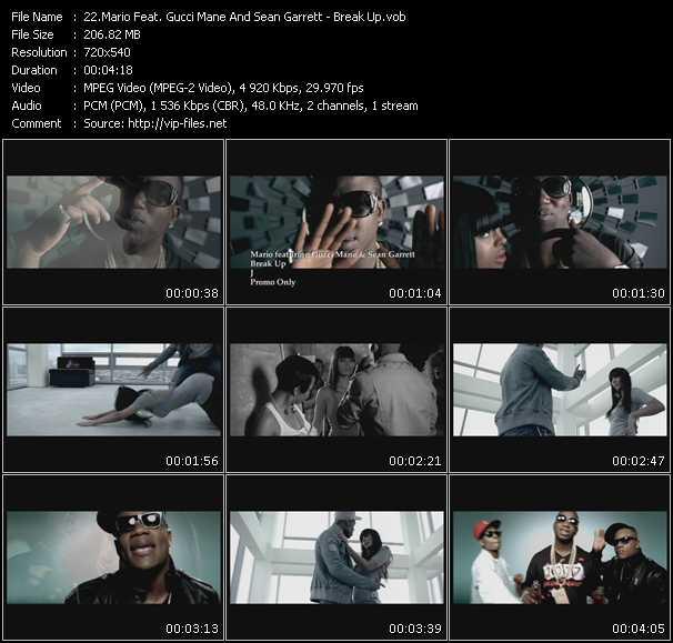 Mario Feat. Gucci Mane And Sean Garrett - Break Up
