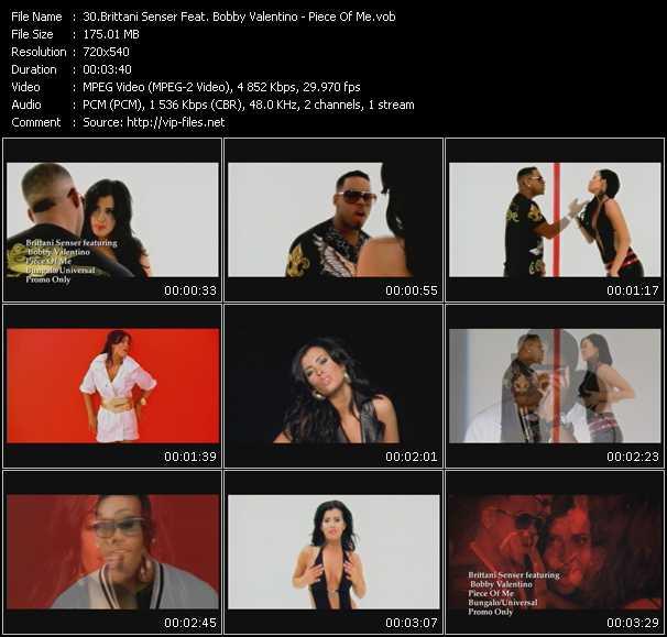 Brittani Senser Feat. Bobby Valentino (Bobby V) - Piece Of Me