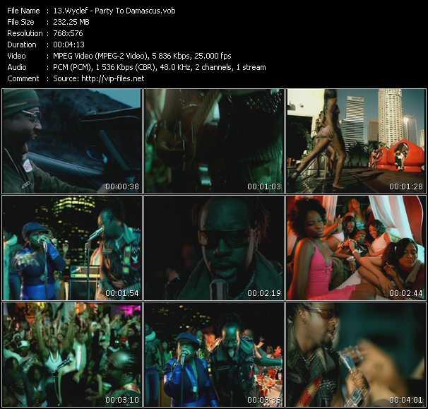 Wyclef Jean Feat. Missy Elliott - Party To Damascus