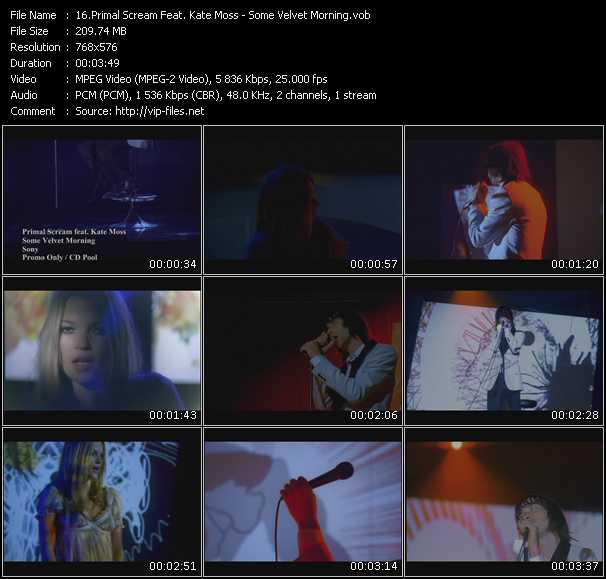 Primal Scream Feat. Kate Moss - Some Velvet Morning