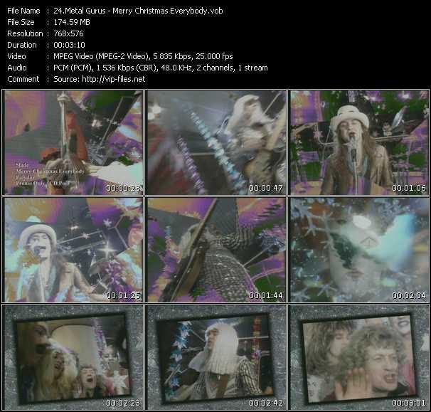 Metal Gurus And Slade - Merry Christmas Everybody