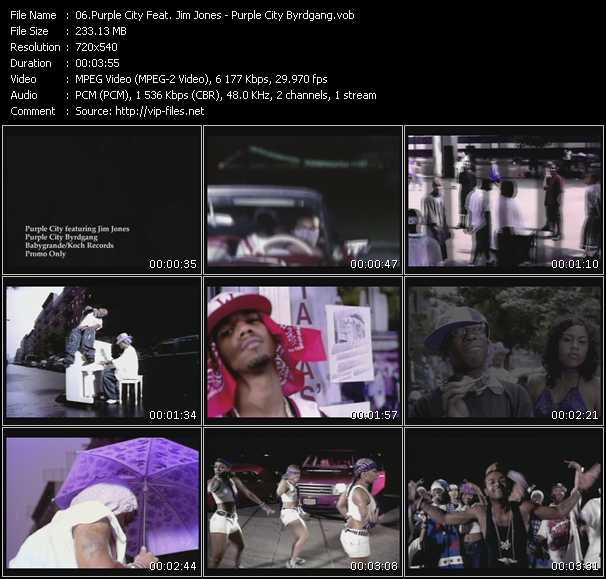 Purple City Feat. Jim Jones - Purple City Byrdgang