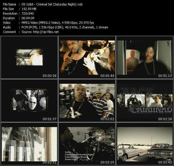 Xzibit - Criminal Set (Saturday Night)