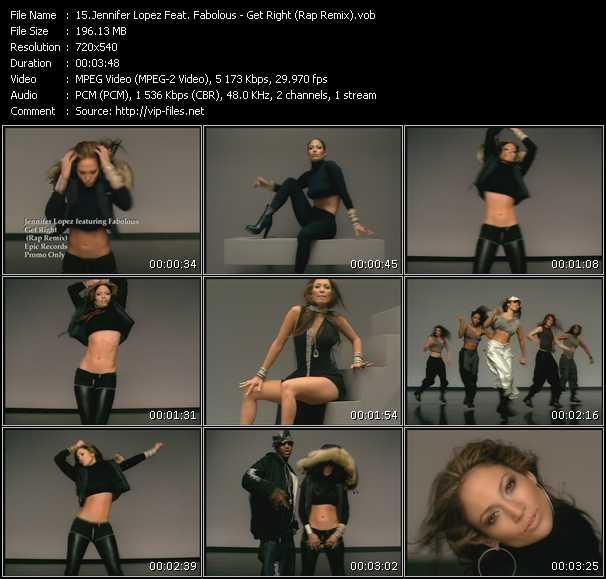 Jennifer Lopez Feat. Fabolous - Get Right (Rap Remix)