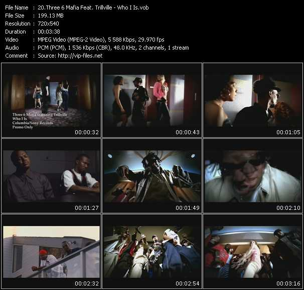 Three 6 Mafia Feat. Trillville - Who I Is
